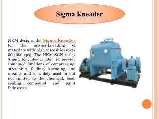 Sigma Kneader