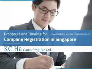 Singapore Company Registration - KC Ha Consulting Pte Ltd
