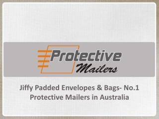 Jiffy Padded Envelopes & Bags No 1 Protective Mailers in Australia