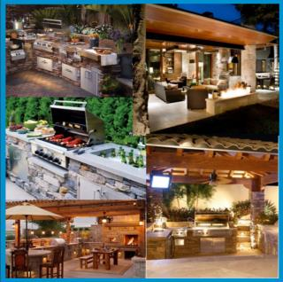 "Things such as ""Outdoor kitchen designs"", ""Beautiful Outdoor Kitchens"" "" backyard kitchens"", etc"