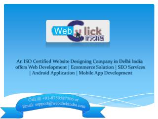 Ecommerce Website Designing Company in Delhi | Ecommerce Solution