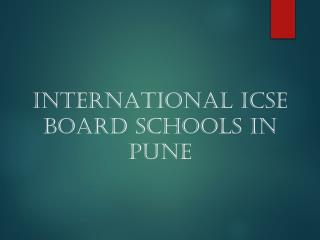 Top International ICSE Affiliated Schools in Pune | RiverDale