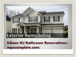 Edison NJ Bathroom Renovations |  mpscomplete.com/