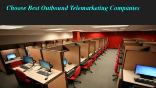 Choose Best Outbound Telemarketing Companies