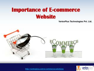 Importance of E-commerce Website