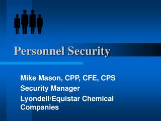 Personnel Security