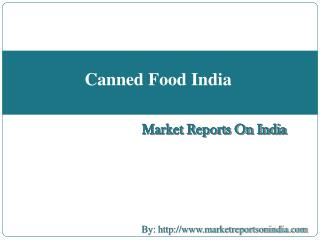 Canned Food India