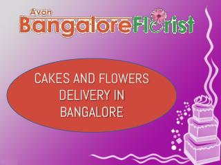 Cakes And Flowers Delivery in Bangalore