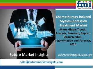 Chemotherapy Induced Myelosuppression Treatment MarketVolume Forecast and Value Chain Analysis 2016-2026Myelosuppression