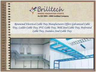 Eletrical Cable Tray Manufacturers