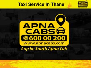 Taxi Service In Thane