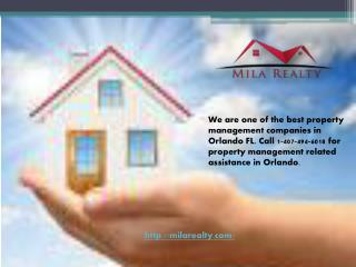 Real Estate in Orlando and Kissimmee