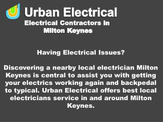Having Electrical Issues?