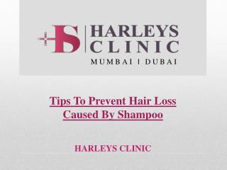 Tips To Prevent Hair Loss Caused By Shampoo