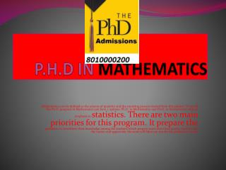 p.h.d in management