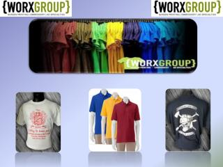 Excellent Screen Printing Service Provider in Murfreesboro | Worx Group
