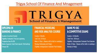 Trigya school of Finance and Management