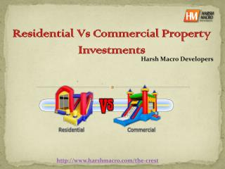 Residential Vs Commercial Property Investments