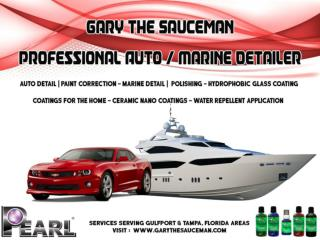 "Marine Detail/ Polishing at Gulfport & Tampa, Florida Areas by Gary ""The Sauceman"""