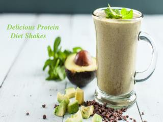 Delicious Protein Diet Shakes