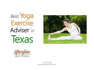 Best Yoga Exercise Advisor in Texas