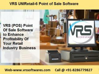 UNIRetail-6 Point of Sale (POS) Software for Billing, Inventory Management your big or small businesses