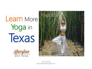 Learn Yoga in Texas