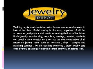 Bridal Jewelry Houston – For Auspicious Occasion