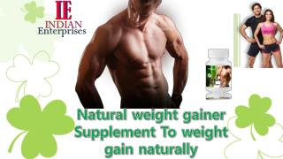 How to gain weight easily – Follow the simple steps