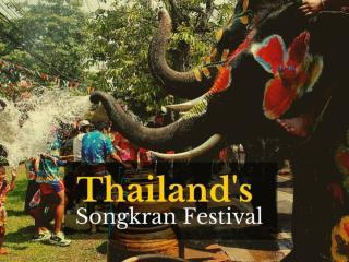 Thailand's Songkran Festival