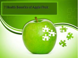 7 Health Benefits of Apple Fruit