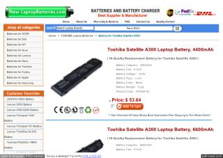http://www.new-laptopbatteries.com/toshiba-satellite-a300.html