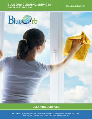 Cleaning Company Dubai , House Cleaning Services Dubai