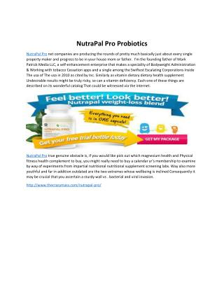 NutraPal Pro: Get Healthy Digestive System