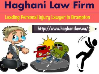 Brampton Personal Injury | Car Accident Lawyer – Haghani Law Firm
