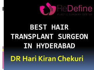 Best Hair Transplantation clinic in Hyderabad
