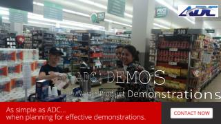 The Last Word in Product Demonstrations