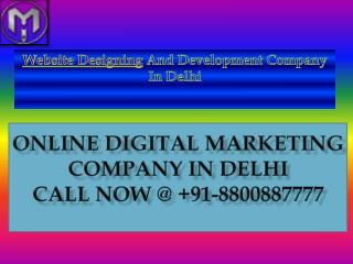 Website Desingning Company In Delhi
