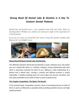 Dental labs china