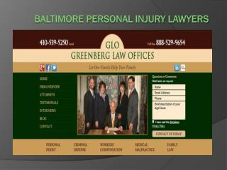 Maryland Criminal Defense Lawyer