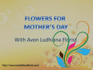 Mother's Day Flowers Delivery In Ludhiana