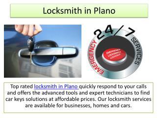 Locksmith in Plano TX