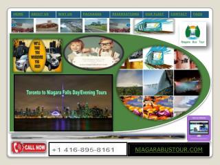 Niagara Falls Tours From Toronto