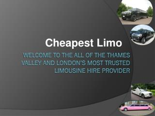 Limo Hire London – The Ultimate Solution of Luxury Car Renting