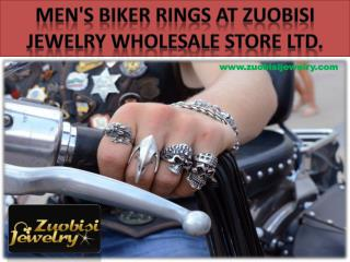 Men's Biker Rings at ZuoBiSi Jewelry Wholesale Store Ltd.