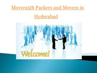 Movers5th Movers in Hyderabad To Home Moving Woes With Professional Moving Firms
