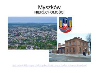 Rynek sprzedaży domów w Myszkowie