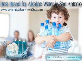 Best Brand for Alkaline Water in San Antonio
