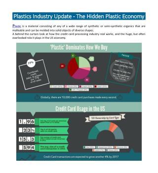 Plastics Industry Update - The Hidden Plastic Economy