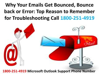 20-4-2016 Why Your Emails Get Bounced, Bounce back or Error: Top Reason to Remember for Troubleshooting